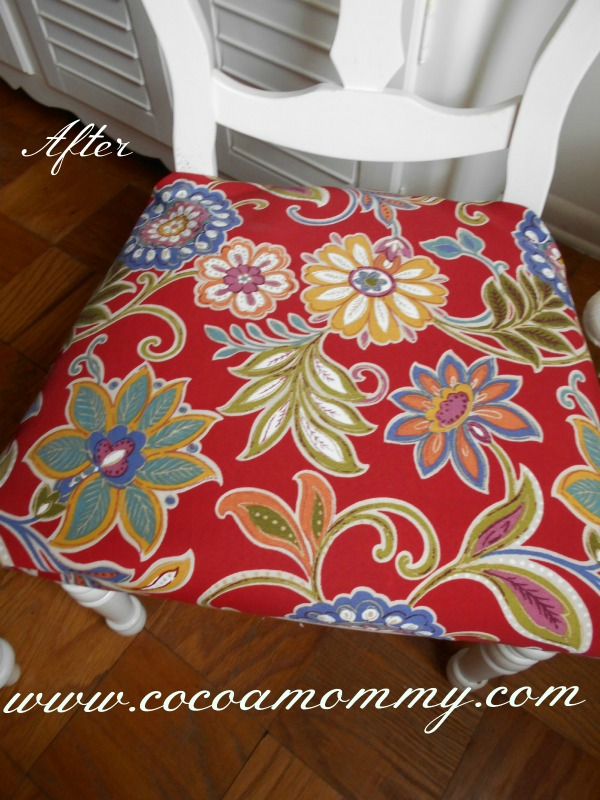 Cocoamommy Blog Series Part I  After Chair