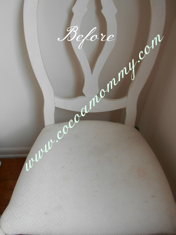 Cocoamommy  Blog Series Part I Before Chair