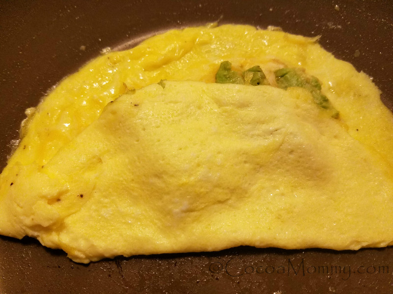 Eating CaliforniaOmelet